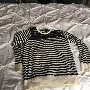 Stripe torrid sweater